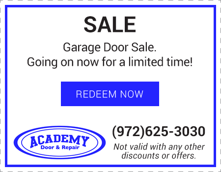 garage door system service specials the colony texas